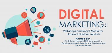 Digital Marketing: Webshops  and Social Media for  Access to Hidden Markets