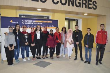 Qualification de l'équipe Enactus AAT à la demi-finale Enactus Morocco 2019