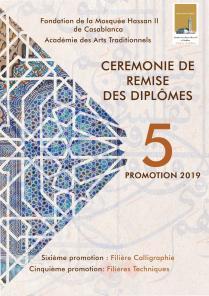 Cérémonie de remise des diplômes, promotion 2019