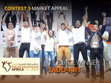 Bilan sur la participation de l'équipe TADD-ART au concours international Solar Decathlon Africa 2019